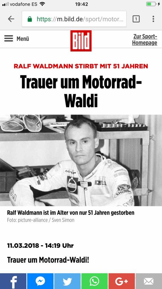 R.I.P Ralf Waldmann