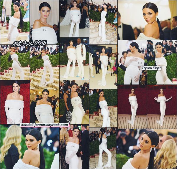 - ●● Miss Kendall Jenner était présente à la célèbre cérémonie des Met Gala 2018 !     -