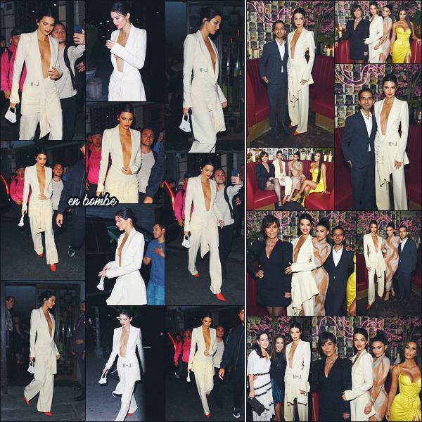08/05/18 - Kendall J. ainsi que sa famille étaient présent au Gala «The Business Of Fashion», New-York.   | Toutes les filles du clan Kardashian / Jenner étaient présentes appart Khloe. Niveau tenue, j'aime beaucoup, c'est très classe. ● ● UN GROS TOP |