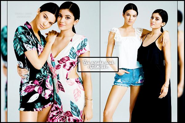 - 2 photos des soeurs J. en tenue Topshop pour le magazine - « Glamour » sont sorties.    -