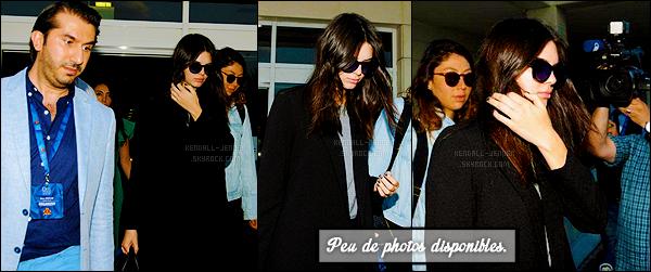- 08/06/15 : Kendall N. Jenner a été photographiée arrivant à l'aéroport situé dans la ville  d'Antalya en Turquie.   La jeune mannequin se rend donc en Turquie pour un très court séjour, elle sera présente sur un podium ! Peu de photos dispos' pour ce candid ... -