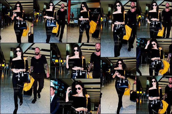 - 27/06/15 : Direction l'Angleterre, Kendall J. a été photographiée alors qu'elle arrivait à l'aéroport de Heathrow.   Elle aura donc passé peu de temps dans la capitale parisienne. Mais que vient-elle faire à Londres ? Nous aurons bientôt la réponse, un avis ?! -