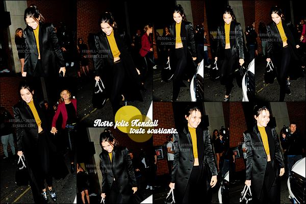 - 28/06/15 : Dans la nuit, Kendall J. quittait le « Libertine Nightclub », avec Gigi Hadid dans la ville de Londres.   C'est une Kendall très souriante, tenant la main de sa meilleure amie Gigi Hadid. Lewis Hamilton et Joe Jonas étaient aussi présents. Un top ? -