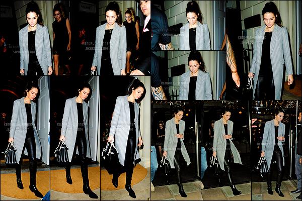 - 02/07/15 : Kendall Jenner quittait son hôtel afin de se rendre au restaurant « Sketch » à Londres - avec Gigi H.   Après plusieurs posts Instagram, il est dit que Kendall aurait eu un rendez-vous galant avec Peter Brant Junior - fils d'un riche homme d'affaires ! -