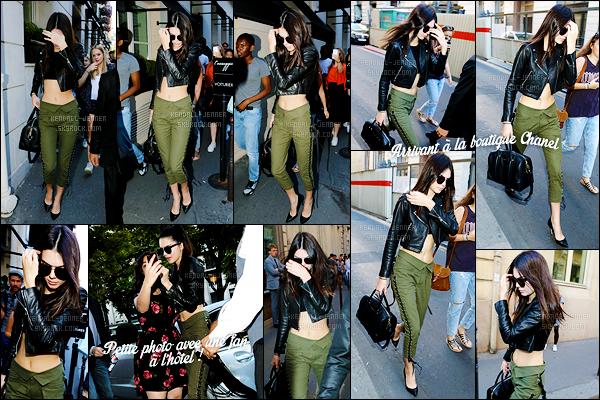 - 06/07/15 : Kendall Jenner s'est rendue déjeuner au restaurant « L'Avenue » avec des proches dont Peter Brant Jr.   Une fois de plus, après Londres, Peter a suivi Kendall à Paris ! Ensemble ou non ces deux là ? Kendall a aussi fait un peu de shopping à Chanel. -