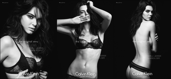 """"""" • • • Découvez trois nouveaux clichés pour « #MyCalvin » de la marque - Calvin Klein. """""""