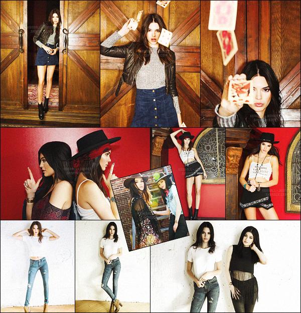 - ''_•PACSUN •''_ ▬ Découvez la nouvelle collection«Back To School» des Jenner ! -