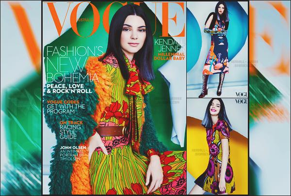 - ● Découvrez des clichés pour le magazine « Vogue Australia » pour octobre 2016 ! -