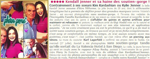 28/07/16 - Ken' Jenner était seule dans les rues de West Hollywood - tenue simple & sport' !