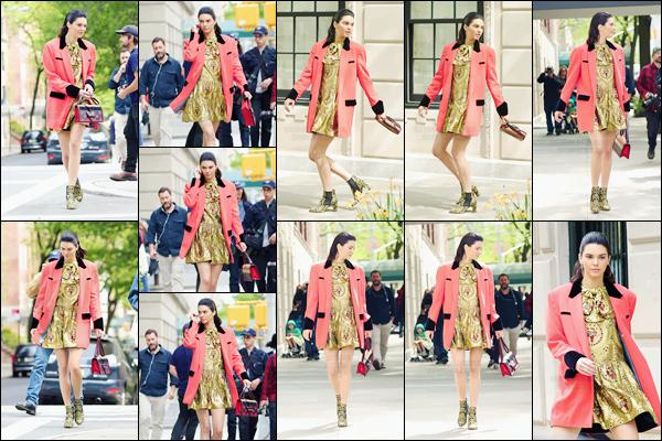 - ''04.05.17'-''─''À nouveau, Kendall Jenner était sur le set d'un nouveau photoshoot dans les rues de New York[/s#00000ize]Décidément lorsque Kendall est à New York, une série de session de photographie ne se fait jamais attendre...  Que pensez-vous de la tenue portée ? -