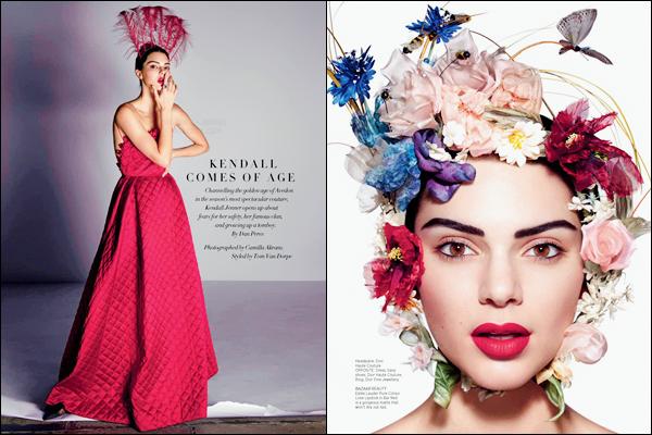 - Kendall Jenner apparaît dans le « Harper's Bazaar » de Singapour en juin 2017 !-