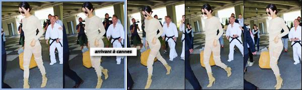 - ''18.05.17'-''─''Kendall Jenner arrivait à l'aéroport international de « LAX » pour prendre un vol à Los Angeles ![/s#00000ize]Notre brunette opte pour un look de couleur nude pour aller prendre son avion. Kendall s'envole en direction du festival de Cannes où elle est attendue. -