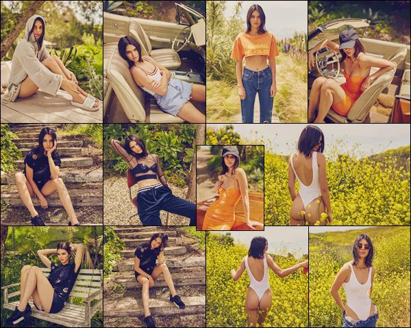 - K. Jenner posait pour « Kendall + Kylie DopTwo » de leur nouvelle collection !-