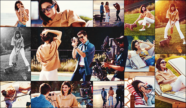 - -TOD'S •- Kendall Jenner & Roberto Bolle posant pour « TOD'S 2018 », si adorable !   -