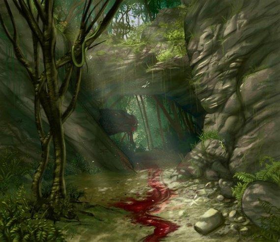 La Caverne Sanglante - Partie 1: Une entrée sous les chapeaux de roux