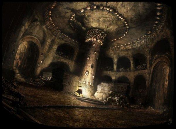 La Caverne Sanglante - Partie 2: Une ambiance morbide