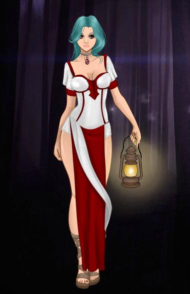 Nouvelle tenue d'Epon: Sorcière rouge