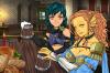 Epon et Rutella version humanisée dans une guilde