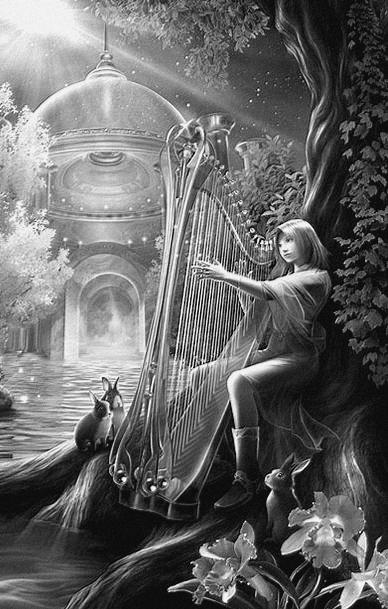 Chanson à la harpe: Le chant des tempêtes