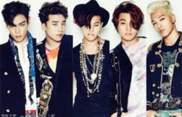 Le boys band BIGBANG