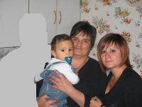 moi ,ma fille et mon petit fils