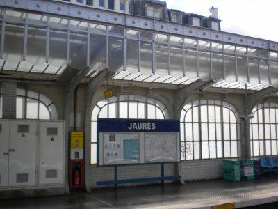 """STATION """"JAURES"""""""