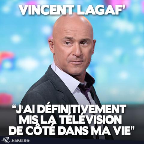 LAGAF' QUITTE TF1...ET LA TELE