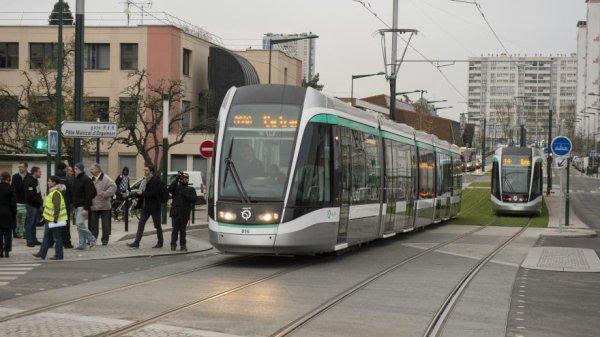 RATP : LIGNE T6 PROLONGE A VIROFLAY LE 28 MAI