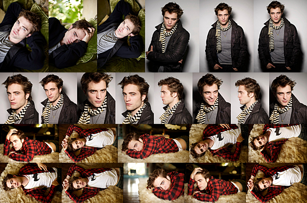 .2009 | Robert pose pour le photographe Stewart Shinning !  .