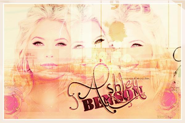 ____________________________________________________________________________ASHBENSO ❀ Ta source pour suivre l'actualité de l'actrice Ashley Victoria Benson ! ___________________________________________________________________