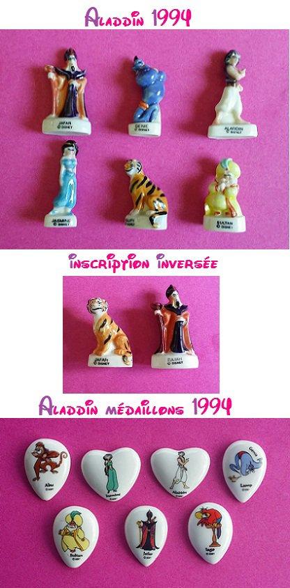 Séries de fèves aladdin + affiche et couronne