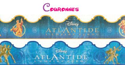 Séries de fèves Atlantide + couronnes