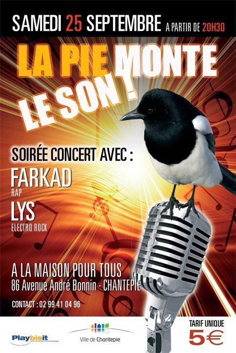 Concert le vendredi 25 septembre 2010 !!!!