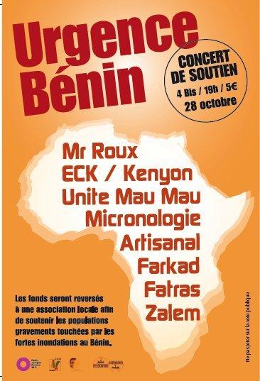 Concert le jeudi 28 octobre au 4 Bis !!!