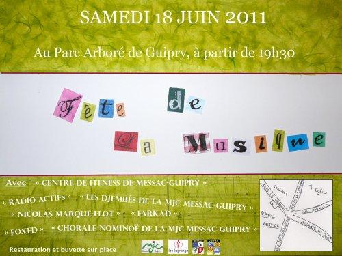 Concert fête de la musique à Guipry
