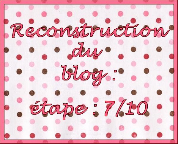 Reconstruction.