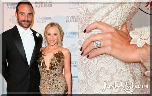 """Kylie Minogue et Joshua Sasse""News Août 2016"