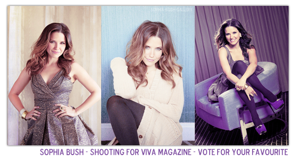 Viva Magazine - New photoshoot for @Sophiabush