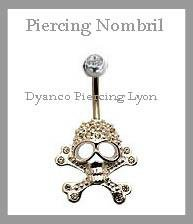 PIERCING NOMBRIL CRANE LUXE