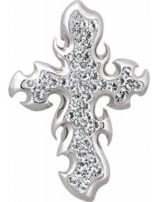 Piercing Haut de Gamme Crystal Evolution aux strass Swarovski Piercing nombril crystal evolution FLAMCROSS