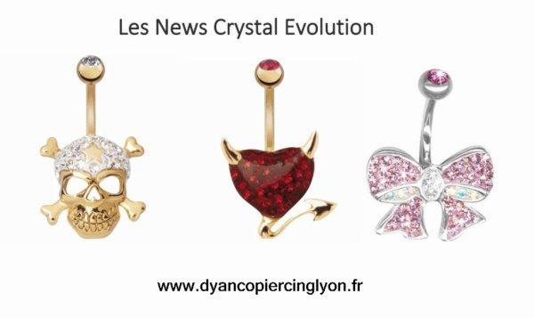 """LES NOUVEAUX PIERCING """"CRYSTAL EVOLUTION"""""""