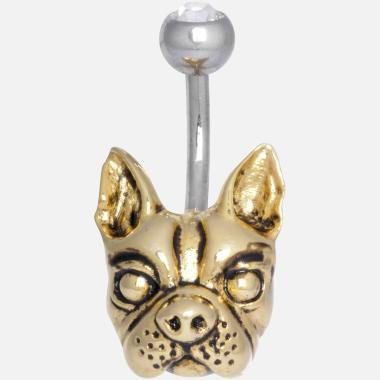 Piercing nombril Bulldog