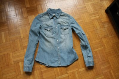 Chemise en jeans H&M
