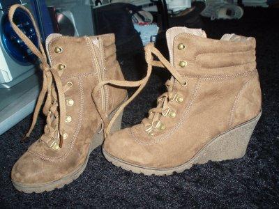 Boots compensées !