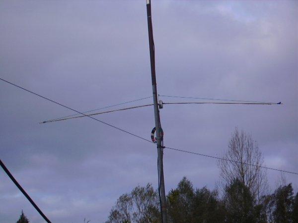 Antenne Dipole 50 MHZ  semi rigide!