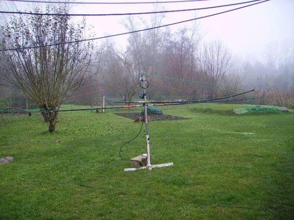 Fabrication Antenne Skypper 11 10 M avec ligne déphasage a 180°