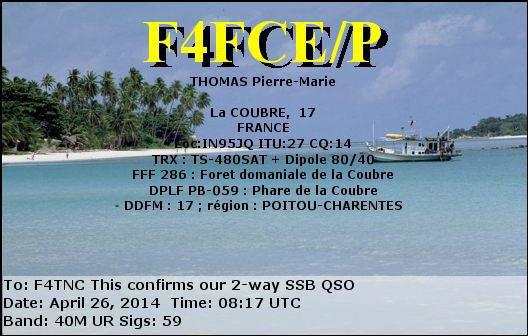 F4FCE/P