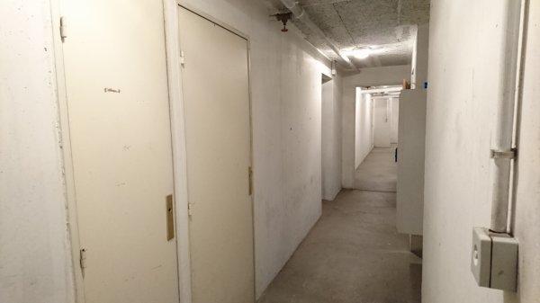 La cave de mon immeuble... Qui vient m'y retrouver..?