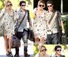 ` > Niley World : Nos Amoureux préférés se rendant chez Miley le 1 / 10 / 2010..