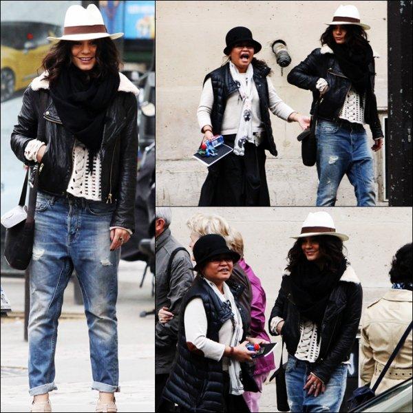 Vanessa est à Paris !!!